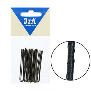 Japanese hairpins 50 mm - black / 20pcs.