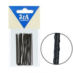 Japanese hairpins 70 mm - black / 20pcs.