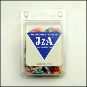 Silicone rubber hair gum 1,5 mm - mix colors / 200 pcs.