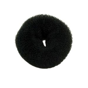 Full medium hair bun - black